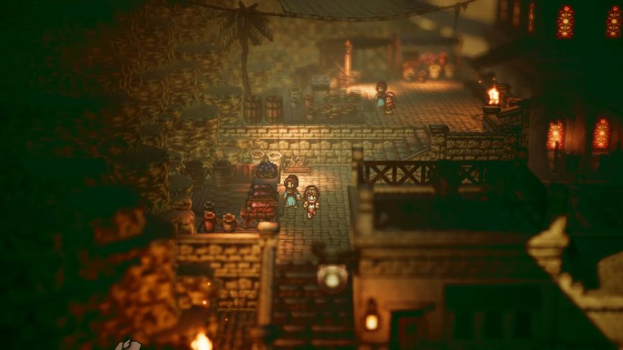 Octopath Traveler Screenshot 6