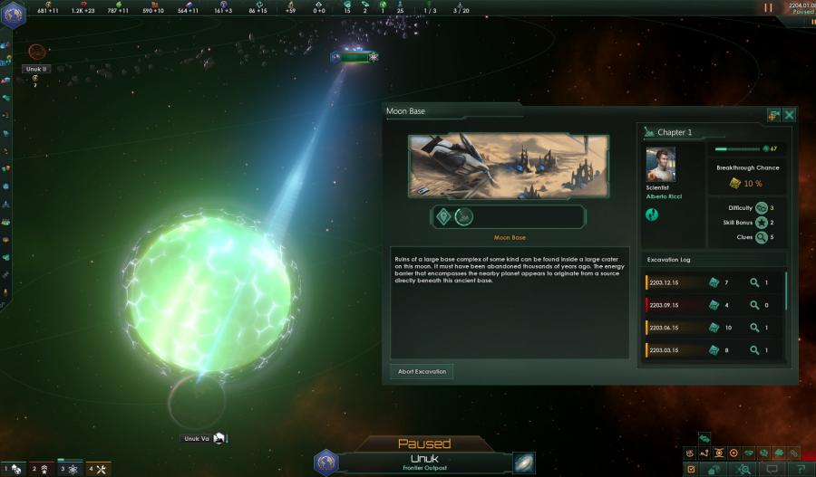 Stellaris - Ancient Relics Story Pack (DLC) Screenshot 6