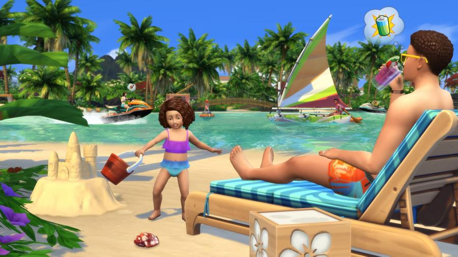 Die Sims 4 + Inselleben Bundle Screenshot 2
