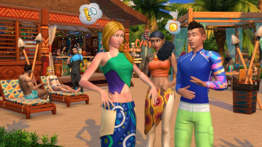 Die Sims 4 + Inselleben Bundle Screenshot 5