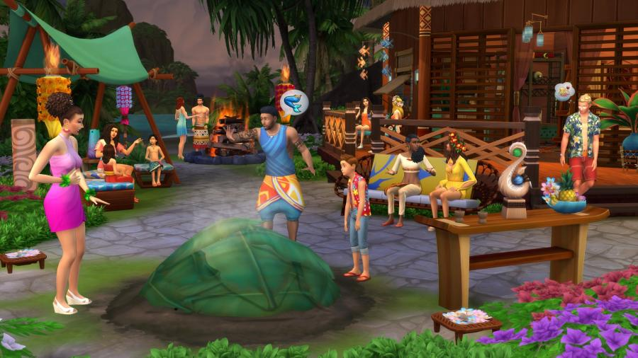 Die Sims 4 + Inselleben Bundle Screenshot 4