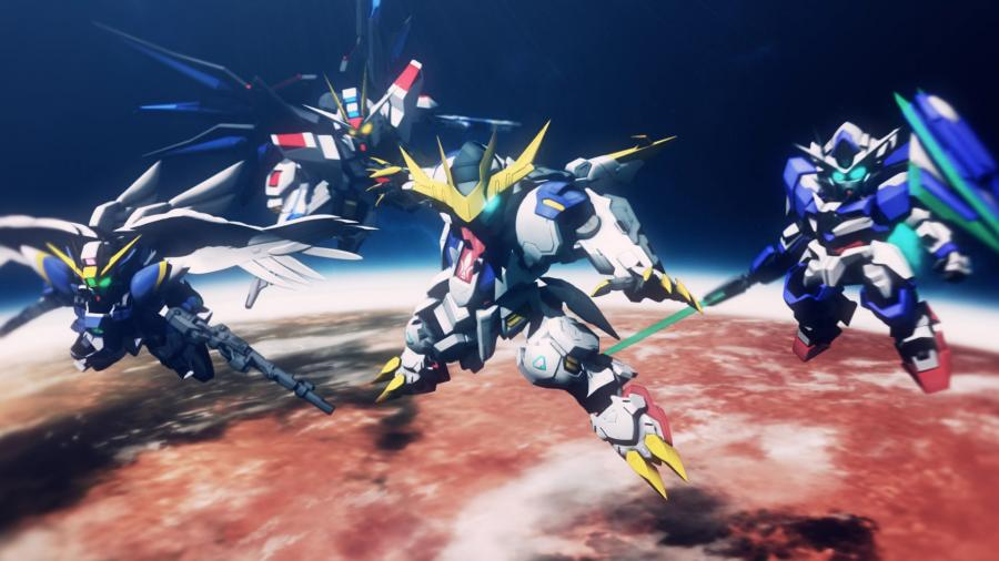 SD Gundam G Generation Cross Rays - Deluxe Edition Screenshot 6
