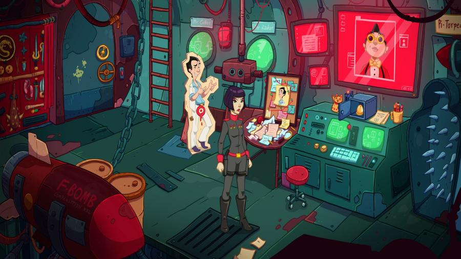 Leisure Suit Larry - Wet Dreams Dry Twice Screenshot 4