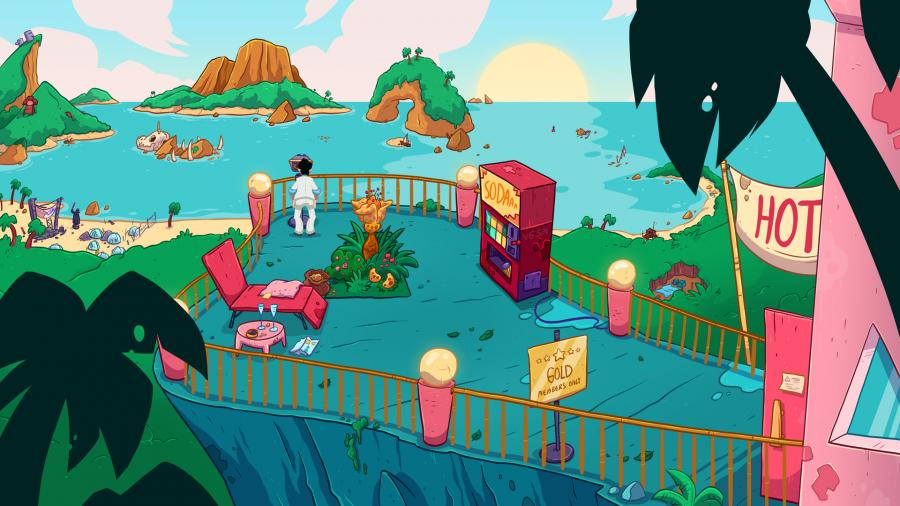 Leisure Suit Larry - Wet Dreams Dry Twice Screenshot 3