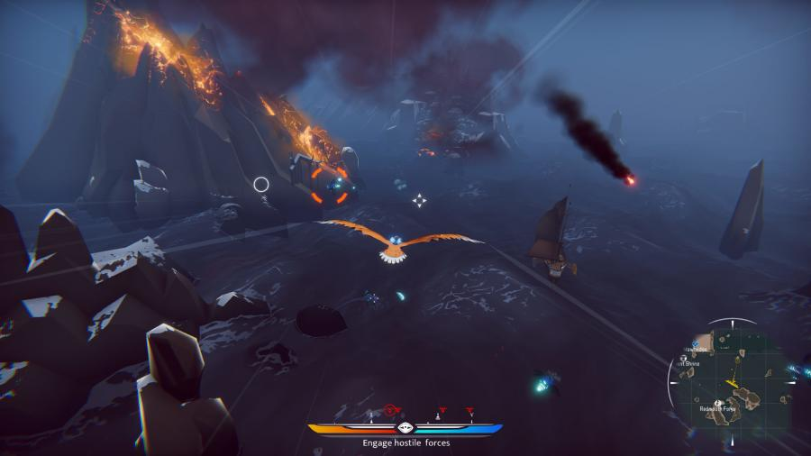 The Falconeer - Deluxe Edition Screenshot 2