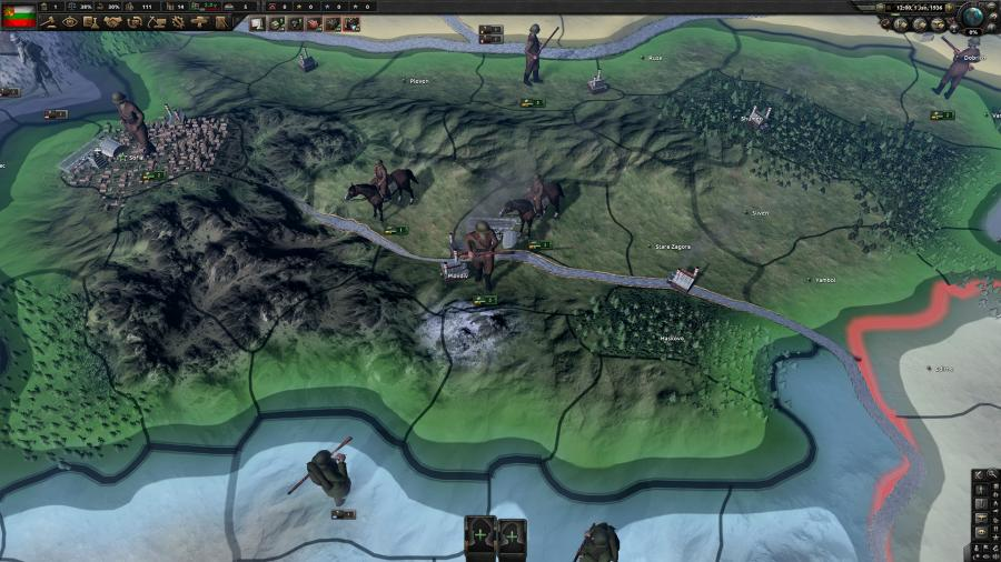 Hearts of Iron IV - Battle for the Bosporus (DLC) Screenshot 5