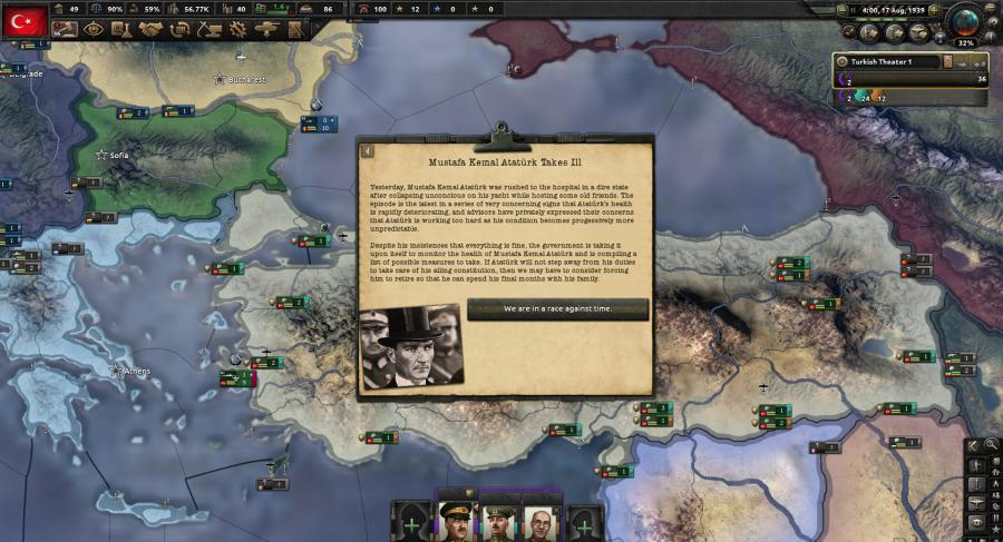 Hearts of Iron IV - Battle for the Bosporus (DLC) Screenshot 2